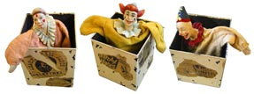 Clown in the Box - 3 characters